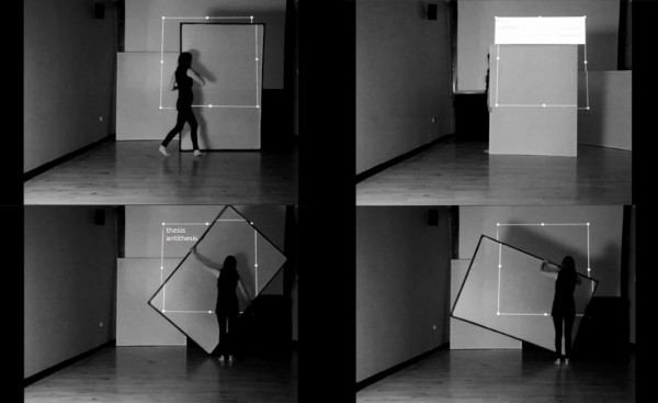Live Performance in collaboration with Máire O' Mahony at Cork Film Centre for INDIVISIBLE