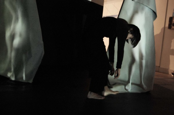 Witness Performance featuring dancer Inma Pavon as part of the installation
